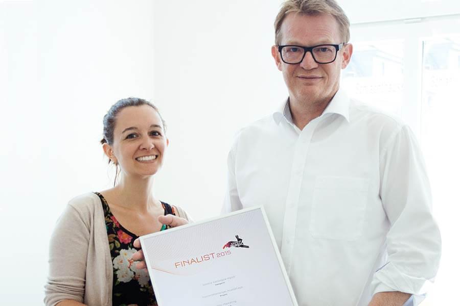PSV News: Comprix Award Fachkräftemangel Altenpflege Finalist 2015