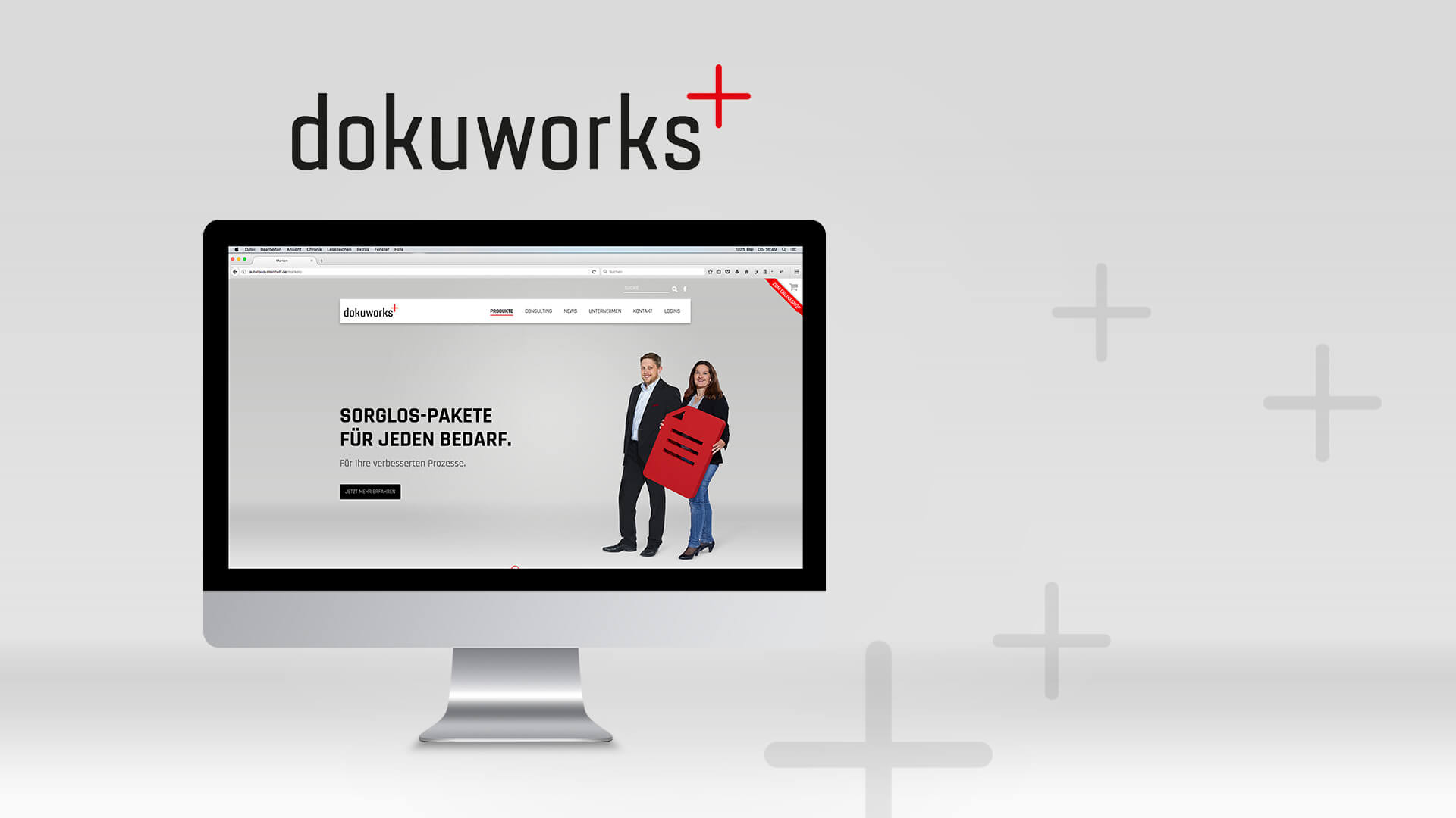 Referenz: dokuworks Websiterelauch Beitragsbild