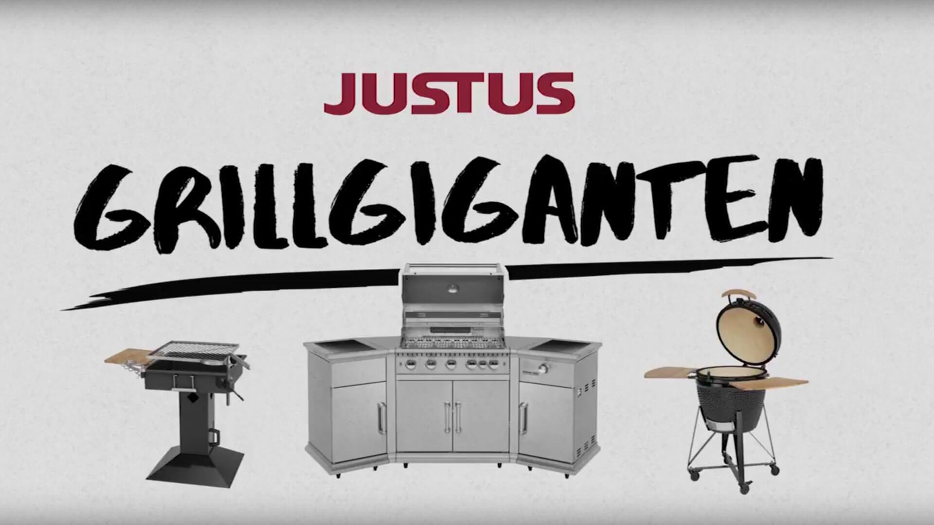 Referenz: Oranier Erklärvideo Justus Grillgiganten