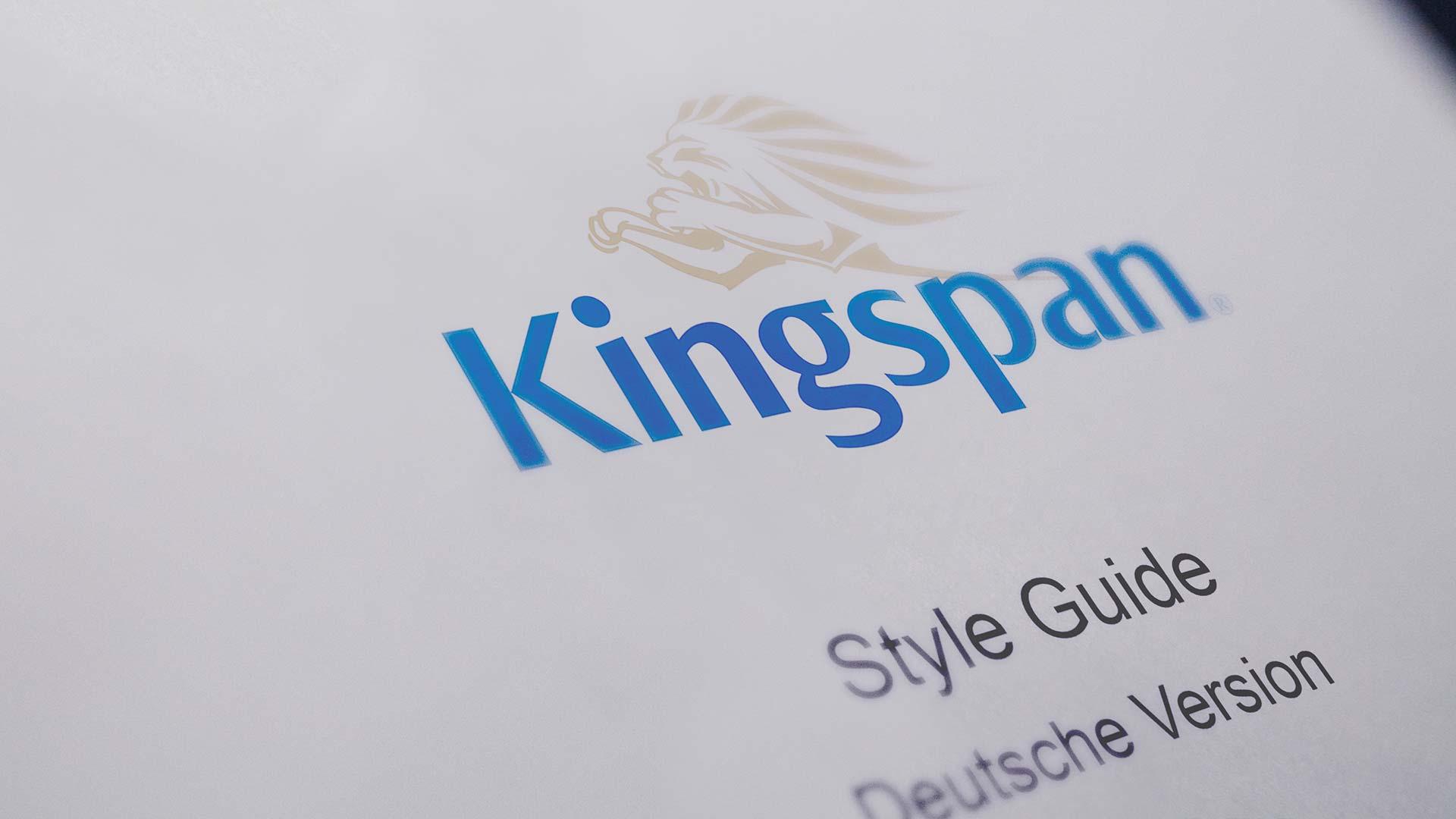 PSV Referenz: Kingspan Styleguide