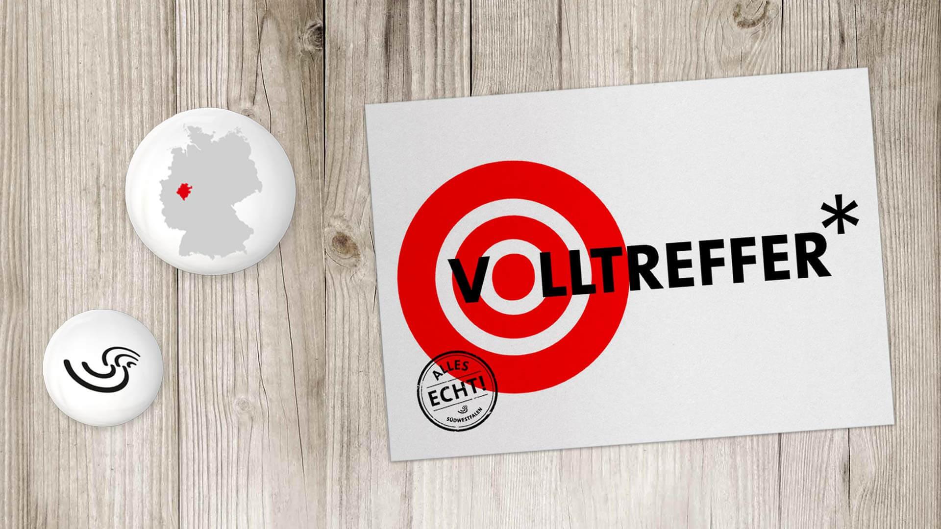 Referenz: Südwestfalen Agentur B2B-Kampagne Volltreffer