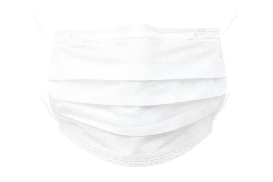 Studie: Die Corona-Disruption. Weiße Schutzmaske